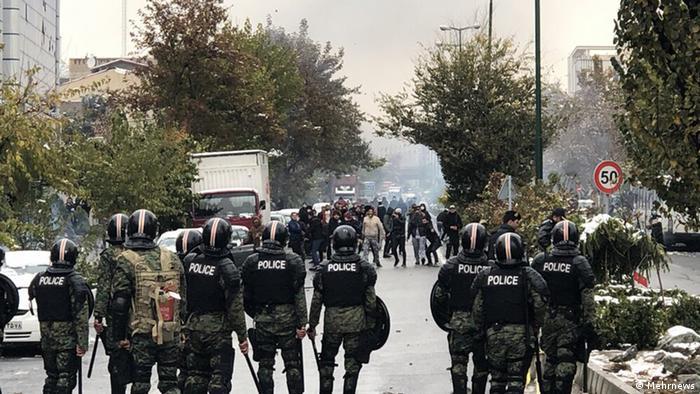 Iran Unruhen in Teheran (Mehrnews)