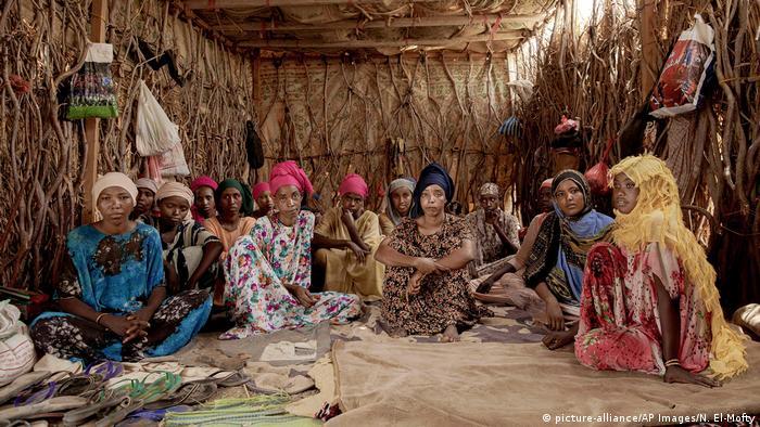 Äthiopische Flüchtlinge im Yemen (picture-alliance/AP Images/N. El-Mofty)