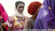 Äthiopische Tigray-Migranten