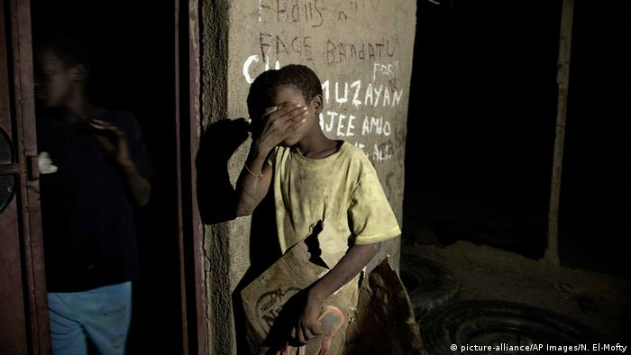 Der Ähiopische Flüchtling Barakat Youanas (picture-alliance/AP Images/N. El-Mofty)