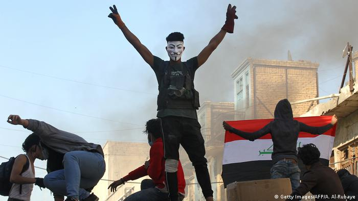 Protestas en Irak.