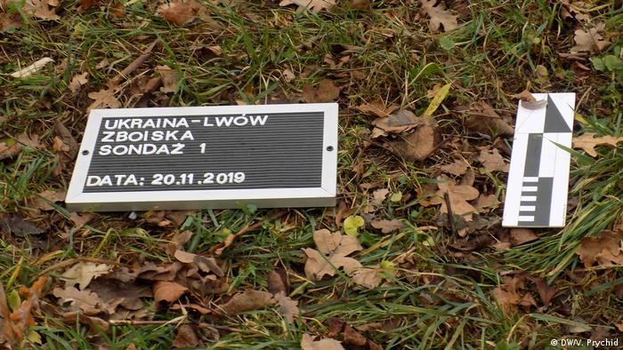 Позначення місця проведення пошукових робіт у Львові польськими археологами