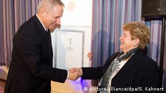 Verleihung Sächsischer Museumspreis 2013 Martina Angermann