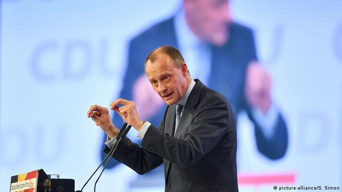 Político democrata cristão alemão Friedrich Merz