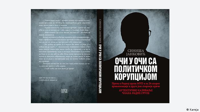 Buchcover Auge in Auge mit der politischen Korruption von Sinisa Jankovic