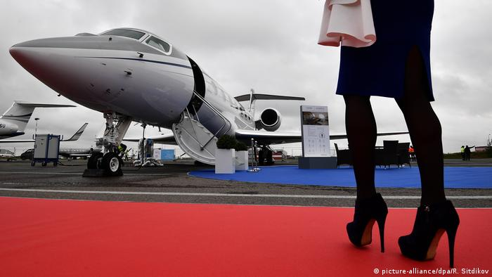 Russland Jet Expo 2017 (picture-alliance/dpa/R. Sitdikov)