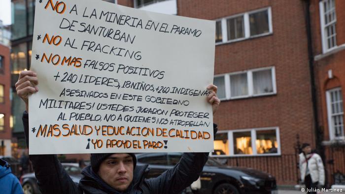 Paro Nacional, landesweiter Streik (Julián Martínez)