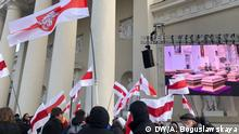 Umbettung der Särge von weissrussischen Nationalhelden in Vilnius