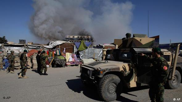 Attacken der Taliban in Afghanistan Flash-Galerie