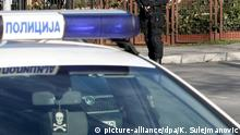 A police car in Serbia (picture-alliance/dpa/K. Sulejmanovic)