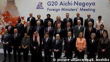 Japan Maas spricht bei G20-Treffen mit Cavusoglu
