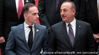 Almanya Dışişleri Bakanı Heiko Maas ve Türkiye Dışişleri Bakanı Mevlüt Çavuşoğlu