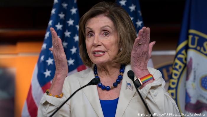 USA Nancy Pelosi (picture-alliance/AP Photo/J. Scott Applewhite)