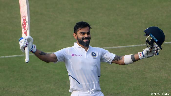 Cicket Indien gegen Bangladesch Test-Match Tag 2 (AFP/D. Sarkar)