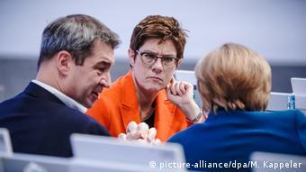 На съезде ХДС в Лейпциге, ноябрь 2019 года