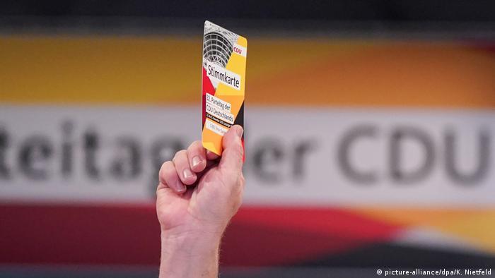 Deutschland | CDU-Parteitag in Leipzig (picture-alliance/dpa/K. Nietfeld)