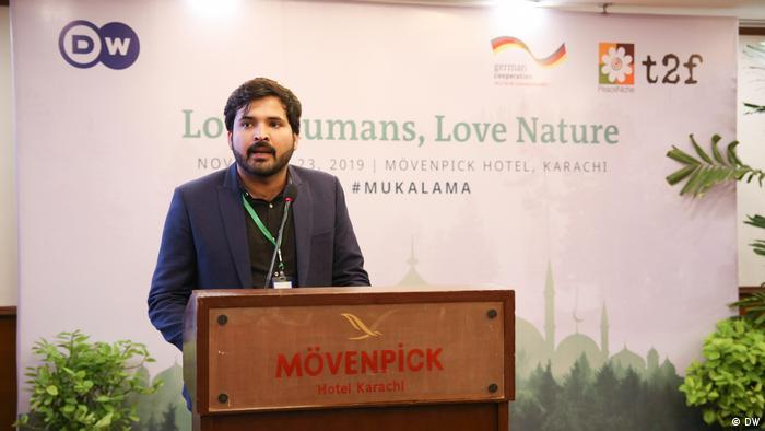 Love Humans - Love Nature Eco-Islam for peace Conference in Karachi Pakistan Raj Kumar (DW)