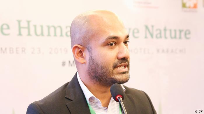 Love Humans - Love Nature Eco-Islam for peace Conference in Karachi Pakistan Ahmad Shabbar (DW)