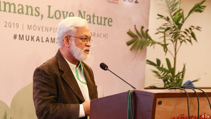 Love Humans - Love Nature Eco-Islam for peace Conference in Karachi Pakistan Dr. Mohsin Naqvi (DW)