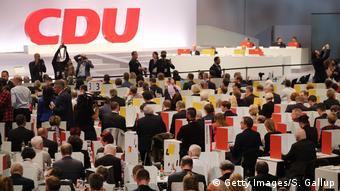 CDU conference in Leipzig