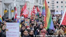 Hannover Demo gegen Rechts