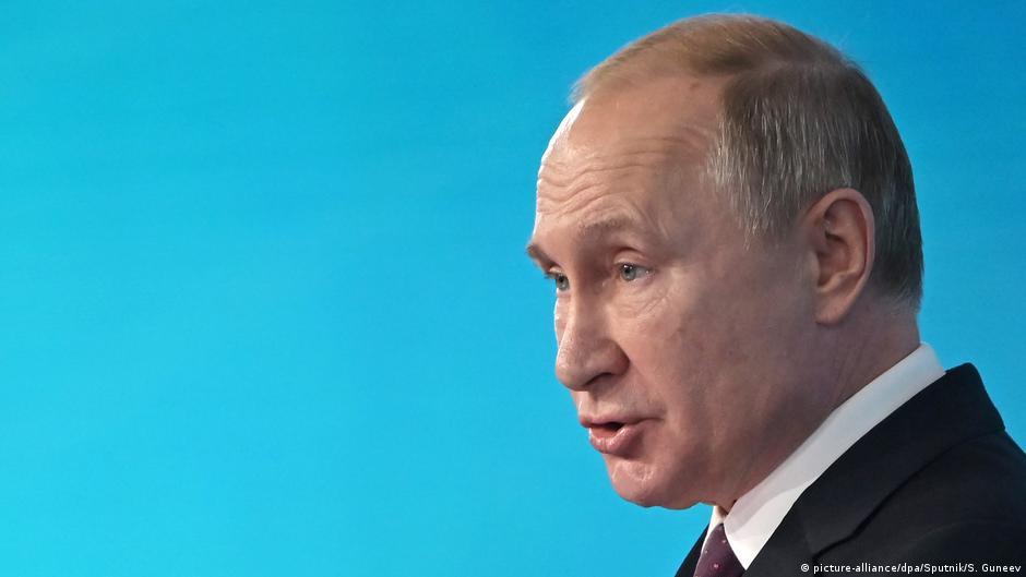 Путин раскритиковал резолюцию Европарламента об осуждении сталинизма и нацизма | DW | 11.12.2019