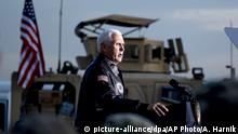 Irak | US-Vize Mike Pence auf Überraschungsbesuch im Irak