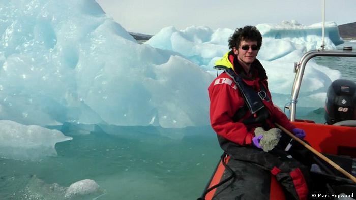 El Dr. Mark Hopwood, químico de GEOMAR, dirigió el estudio que reunió a investigadores de diferentes centros del mundo.