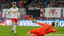Fußball Bundesliga RB Leipzig vs 1.FC Köln Tor Werner 1:0