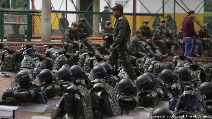 Kolumbien | Protest in Bogota