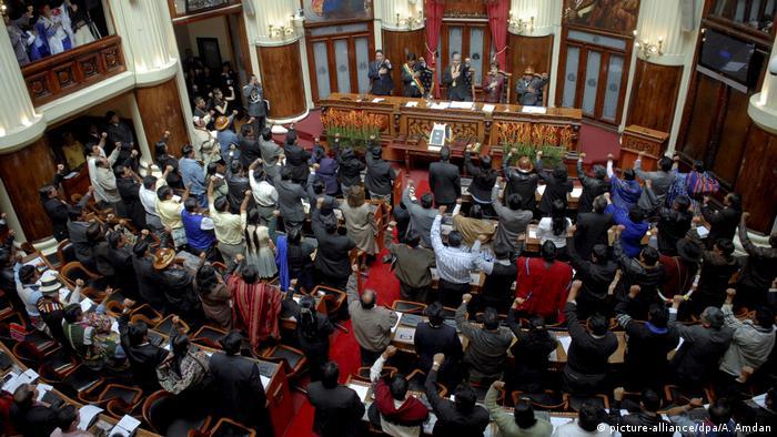 Bolivien Parlament (picture-alliance/dpa/A. Amdan)