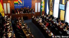 Bolivien Parlament
