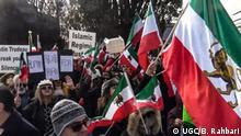 Proteste in Toronto gegen die Regierung im Iran