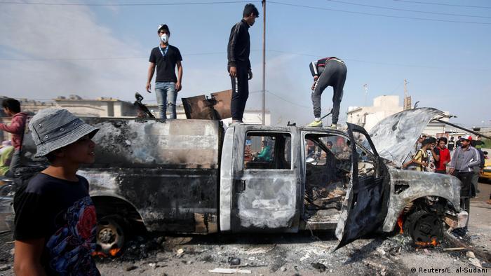 Irak Basra Proteste (Reuters/E. al-Sudani)