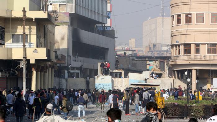 Irak Bagdad Proteste