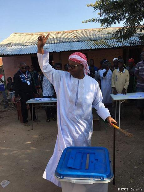 Umaro Sissoco Embaló Wahlen in Guinea Bissau