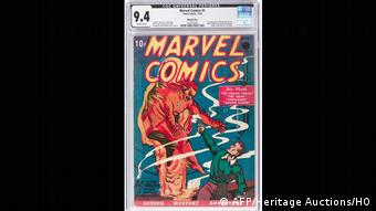 Marvel Comics (AFP/Heritage Auctions/HO)
