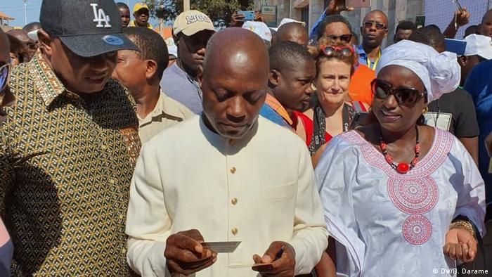 Guinea-Bissau Bissau Wahlen Präsidentschaftskandidat José Mário Vaz