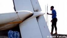 DR Kongo Goma Flugzeugabsturz