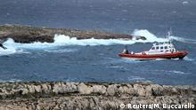 Italien Sieben Leichen nach Schiffbruch vor Lampedusa gefunden