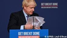 UK Johnson will Brexit-Deal noch vor Weihnachten ins Parlament einbringen