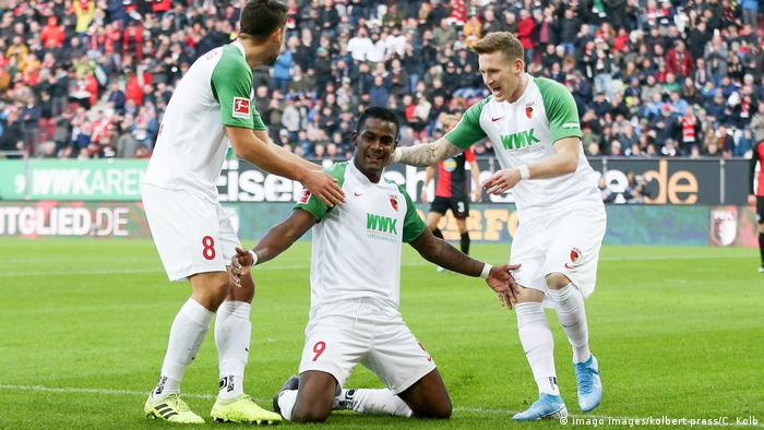 Augsburg vs. Hertha Berlin (imago images/kolbert-press/C. Kolb)