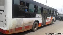 Passagierbus des öffentlichen Verkehrssystems von Luanda. Rechte: Manuel Luamba, Korrespondent der Deutschen Welle am 18.11.2019***