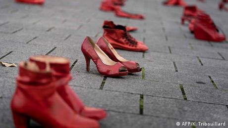 Belgien Demo Gegen Gewalt gegen Frauen in Brüssel (AFP/K. Tribouillard)