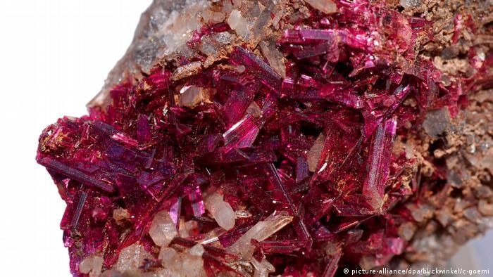 Erythrin-Kristalle (picture-alliance/dpa/blickwinkel/c-goemi)