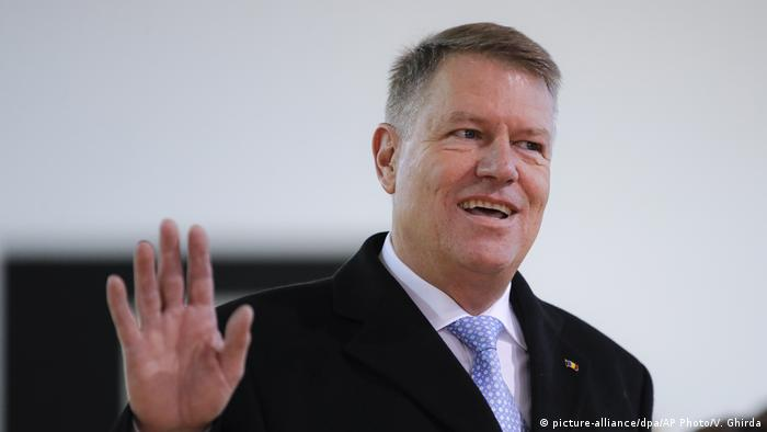 Klaus Iohannis (picture-alliance/dpa/AP Photo/V. Ghirda)