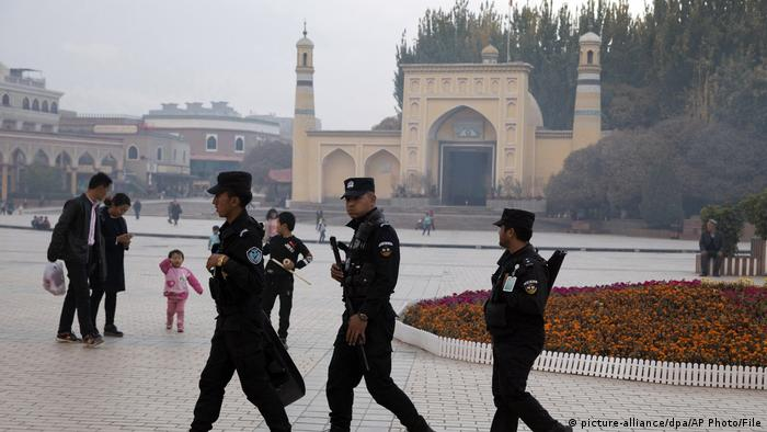 China | Muslime | Id Kah Moschee (picture-alliance/dpa/AP Photo/File)