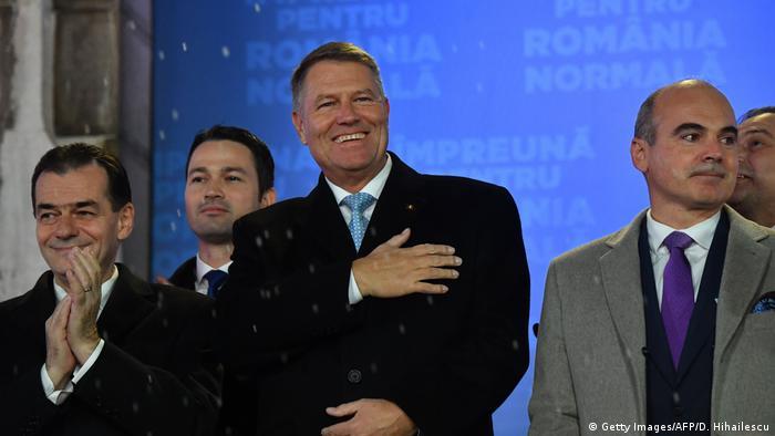 Comentariu: Triumf pentru președintele pragmatic al României, Klaus Iohannis  | România | DW | 25.11.2019