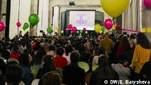 Russland Veranstaltung FemFеst in Moskau gegen Gewalt gegen Frauen