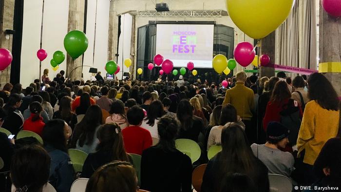 Участницы фестиваля FemFеst в Москве, 24 ноября 2019 г.